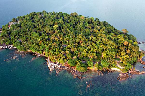 Six Senses ouvre son hôtel sur une île de 12 hectares au Cambodge - Crédit photo : Six Senses