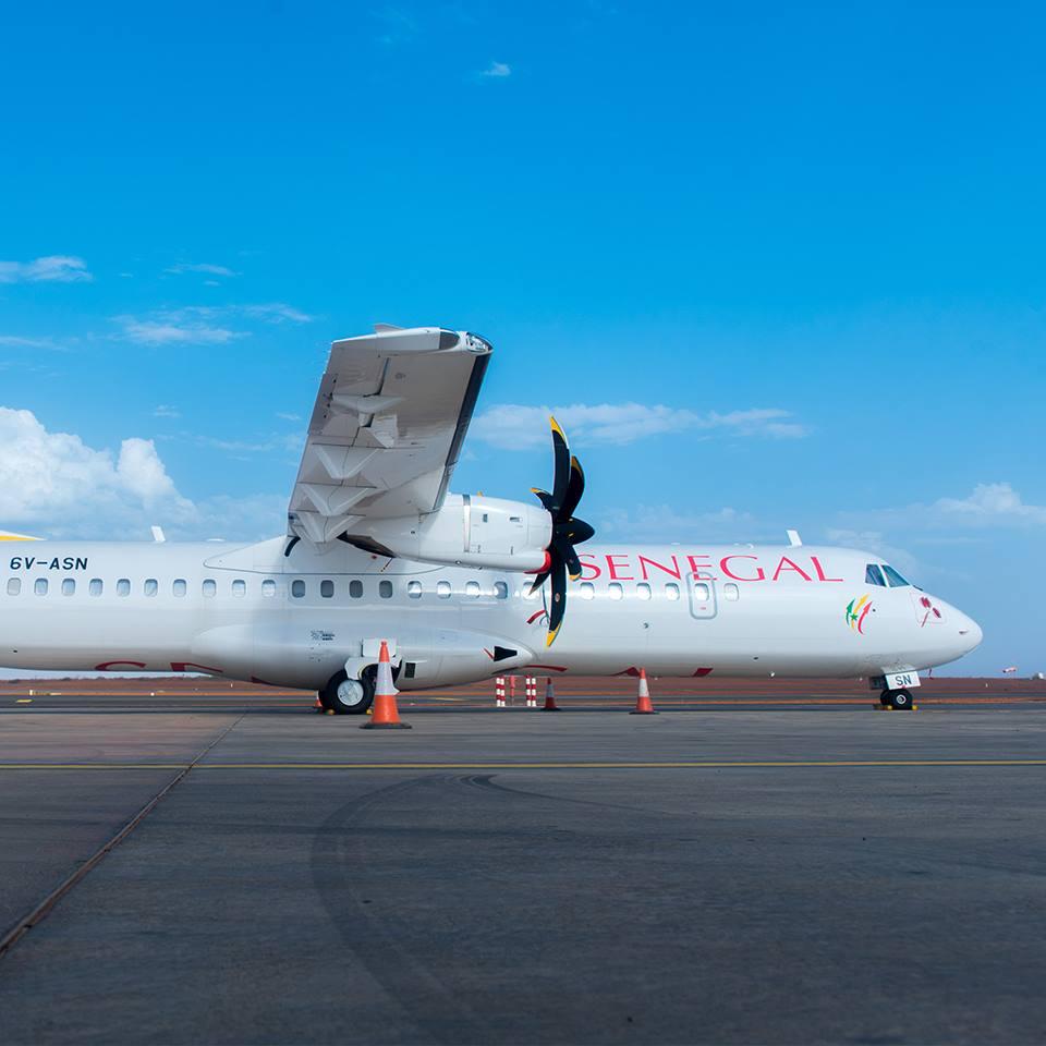Un avion de la compagnie Air Sénégal - DR Facebook