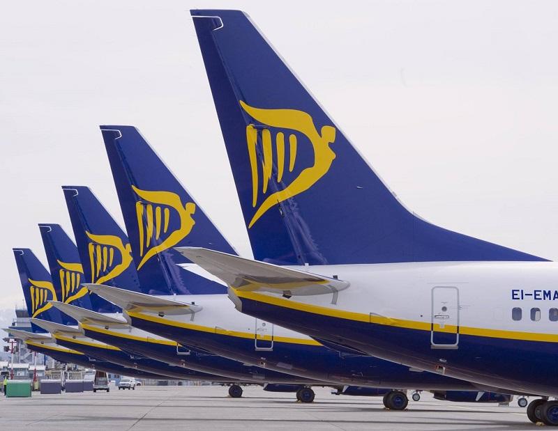 La justice a saisi un avion de Ryanair à Bordeaux, jeudi 8 novembre 2018 - DR : Ryanair
