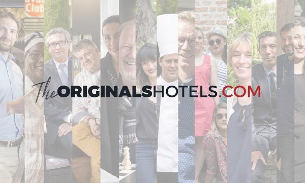 Le groupe SEH change de nom pour The Originals Human Hotels & Resorts. Les hôtels de la marque seront regroupés sur un site unique : Theoriginaleshotels.com. - DR The Originals, Human Hotels & Resorts