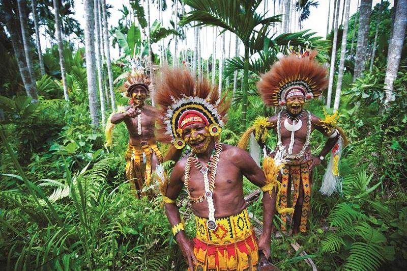la papouasie nouvelle guinee
