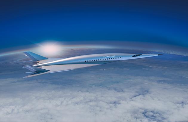 Boeing a dévoilé un premier aperçu de son concept d'avion hypersonique, pouvant voler à plus de 5 fois la vitesse du son - DR : Boeing