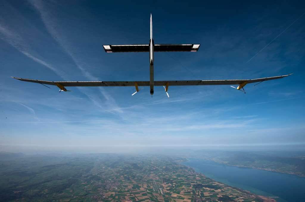 Solar Impulse 2 fera-t-il des enfants ? © Solar Impulse, Jean Revillard, rezo.ch