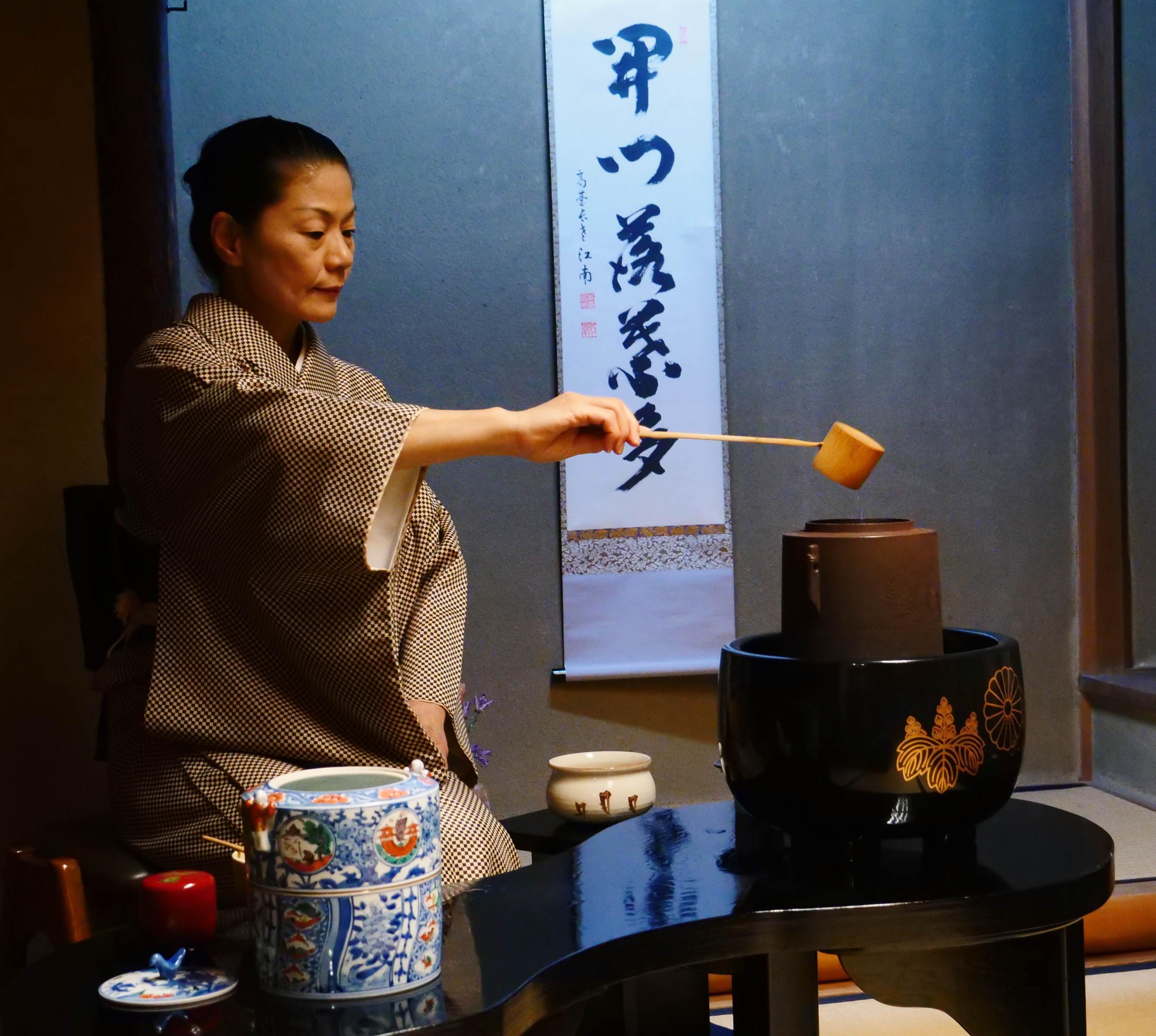 La cérémonie du thé © LM