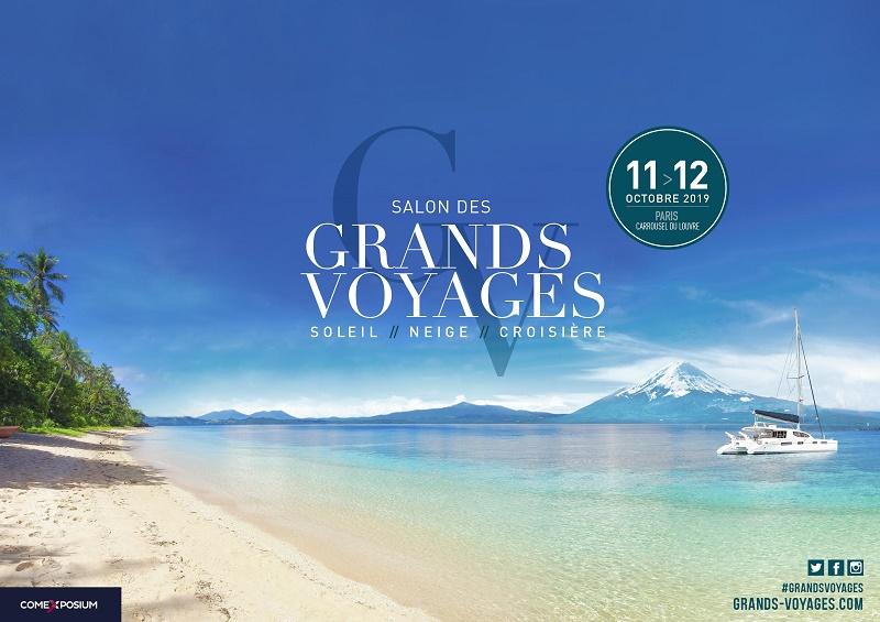 Le salon des Grands Voyages se déroulera les 11 et 12 octobre 2019 à Paris au Caroussel du Louvre - DR