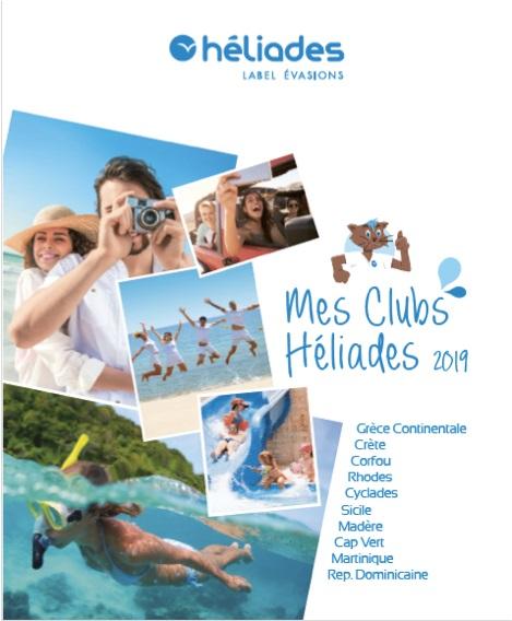 La brochure Héliades dédiée aux clubs - DR