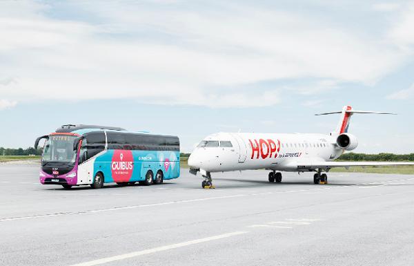 Hop! propose les offres Ouibus à ses clients au départ de Lyon - Crédit photo : Ouibus
