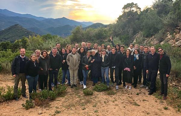 Linea Voyages, le 1er séminaire du groupe s'est tenu à Porticcio - Crédit photo : Groupe Linea Voyages