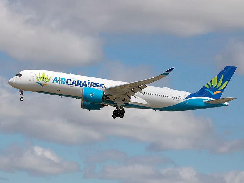 Air Caraïbes Atlantique Airbus A350-941 at Paris Roissy - Charles de Gaulle - LFPG France