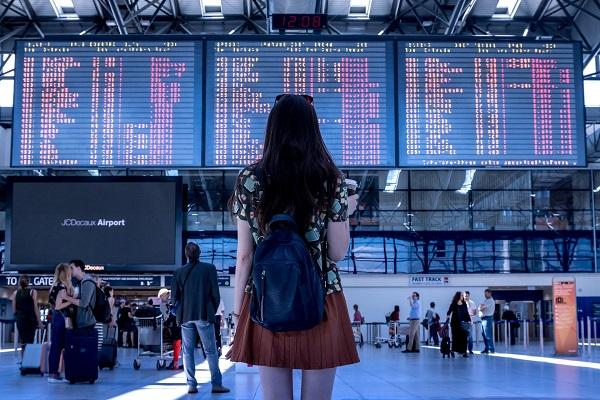 Le retard aérien a bondi de 53% en 2018, dans le ciel Européen selon Eurocontrol - Crédit photo : Pixabay, libre pour usage commercial