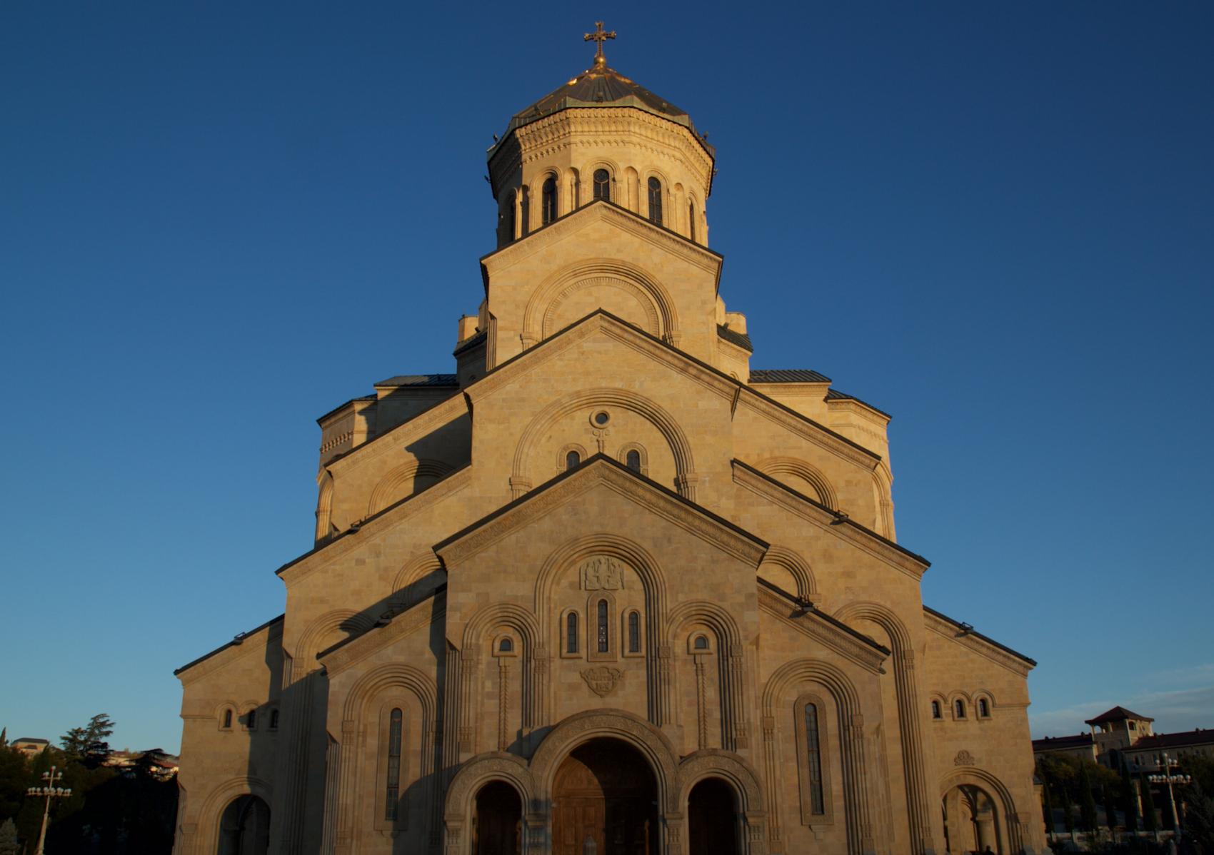 La Cathédrale de la Trinité de Tbilissi haut lieu de la culture orthodoxe © PG TM