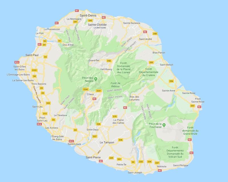 L'aéroport de La Réunion Roland Garros a repris ses horaires normaux - DR