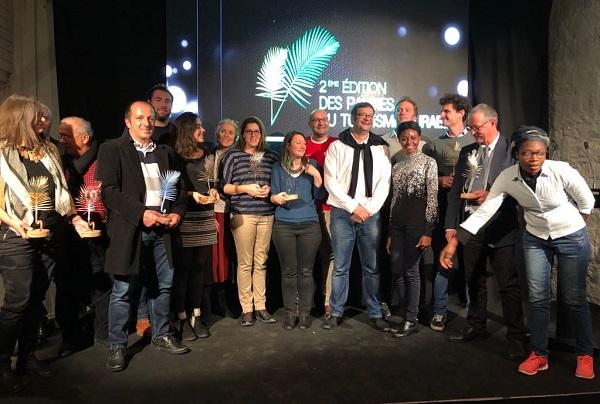 Les lauréats des palmes heureux lors de la remise des prix - Crédit photo : JDL