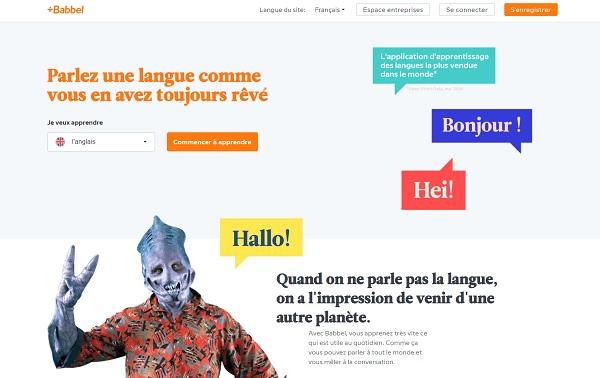 Babbel : l'application d'apprentissage se met à la vente des séjours linguistiques