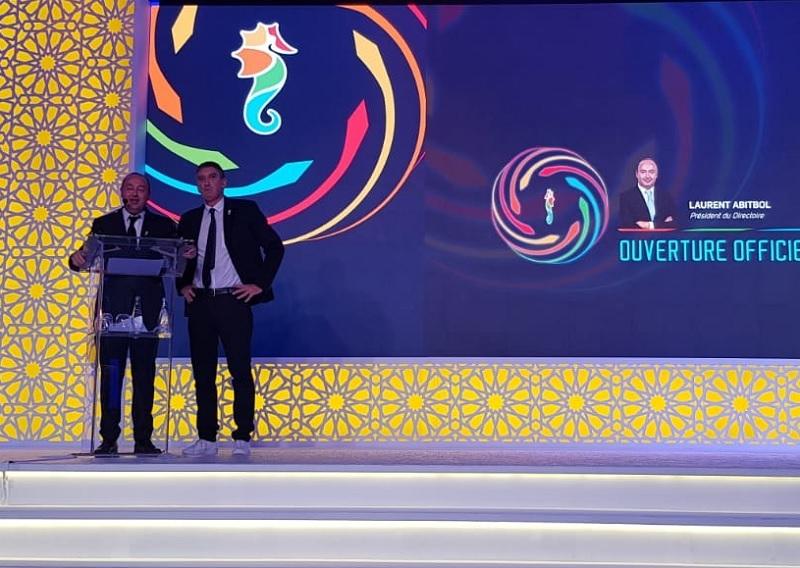 Laurent Abitbol et Valéry Muggeo respectivement président du directoire et président de la coopérative - Photo CE