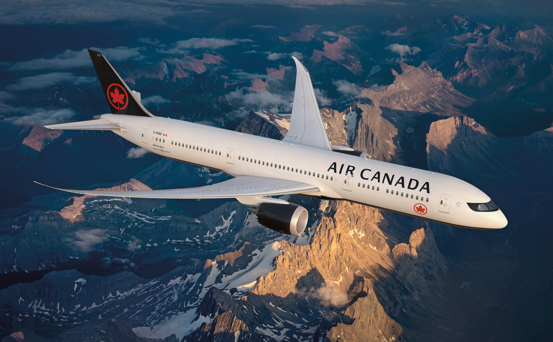 Air Canada poursuit son programme de renforcement de sa flotte long-courrier, avec l'arrivée courant 2019 de deux nouveaux Boeing 787-Dreamliner - DR : Air Canada