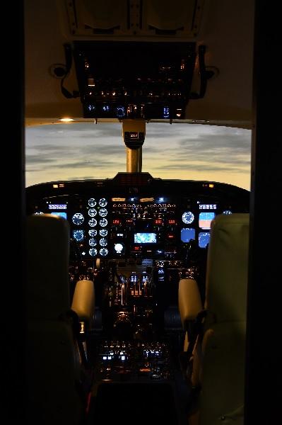 Le simulateur de Twin Jet - DR