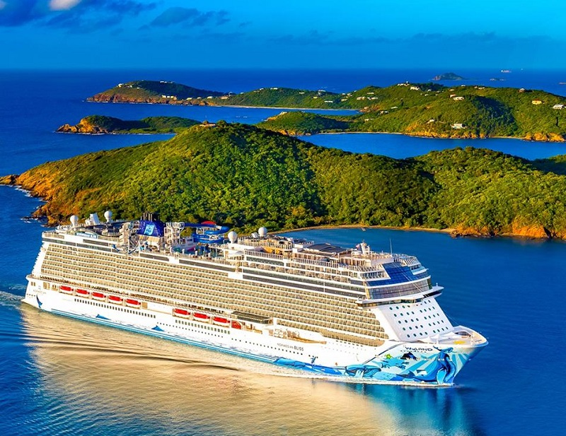 Le Norwegian Bliss effectuera différents itinéraires sur la Riviera mexicaine, le canal de Panama et les Caraïbes orientales - DR : NCL