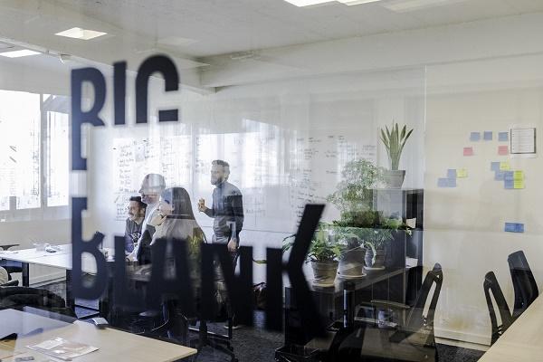 BigBlank est le start-up studio d'Air France qui doit permettre d'inventer le voyage de demain - Crédit photo : Edouard Ducos