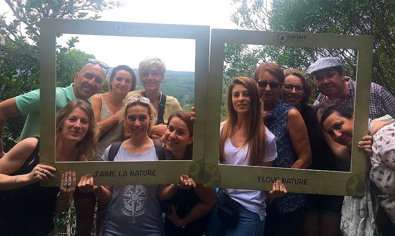 Les 8 agents de voyages accompagnés par l'équipe de Beachcomber Tours - DR : Beachcomber Tours