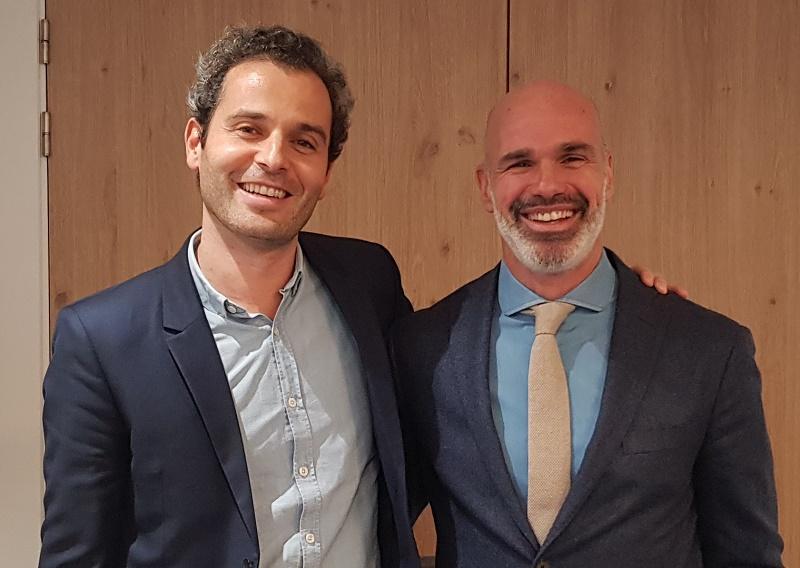 Arnaud Abitbol (Marietton Developpement) et Alexandre Espitalier-Noël (Solea) - DR