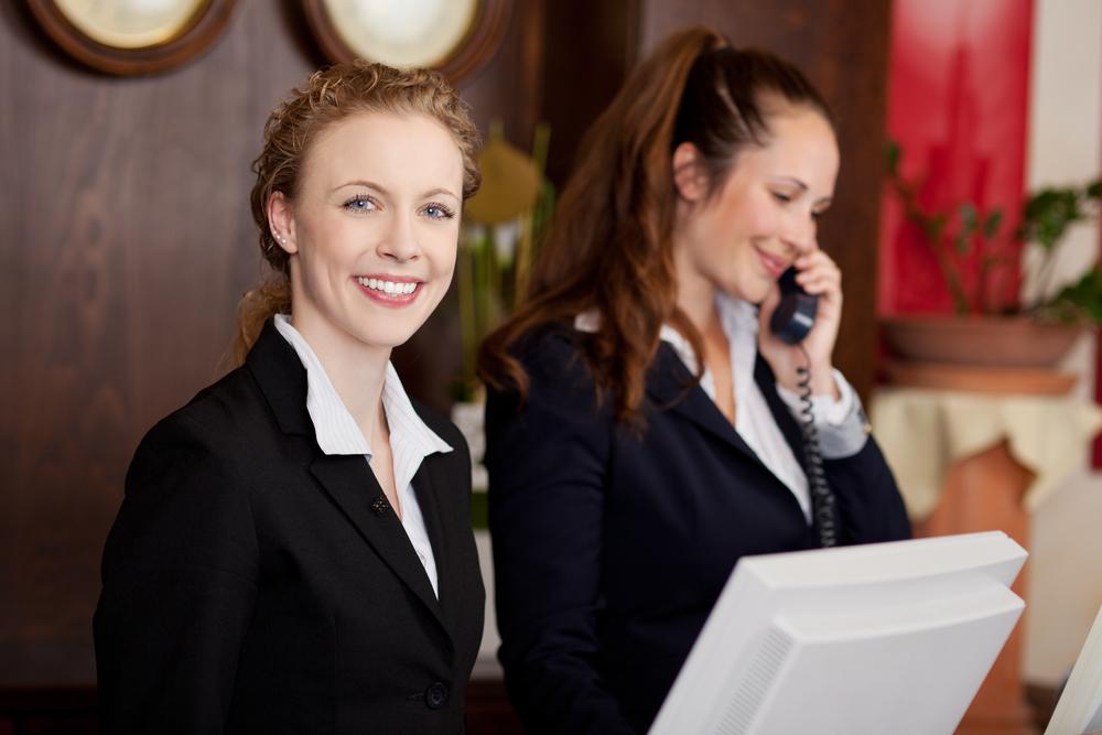 Le métier de réceptionniste évolue - Depositphotos