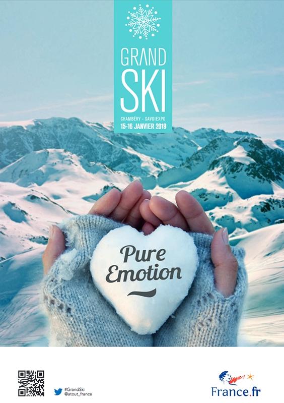 Affiche Grand Ski 2019 - DR : Atout France