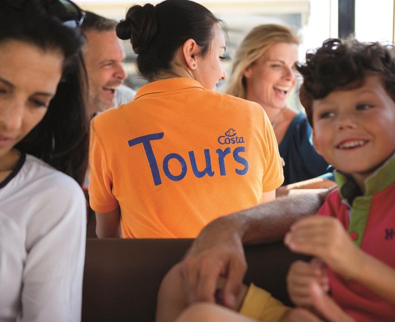 Les Adagio Tours ont disponibles à la réservation depuis 1er janvier 2019 lors des croisières en Méditerranée effectuées par le navire Costa Diadema - Photo Costa