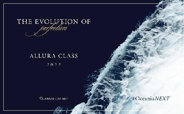 """Oceania Cruises dévoile sa nouvelle classe de navire """"Allura"""" - Crédit photo : Oceania Cruises"""