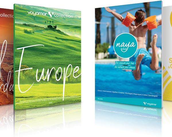 Voyamar distribue ses brochures été 2019 - Crédit photo : Voyamar