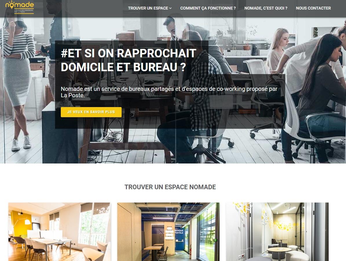 La plateforme lancée par La Poste et Bird Office - DR