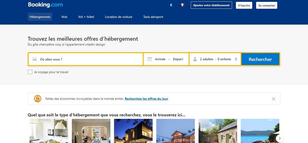 Le service client de Tourcoing de Booking.com, plateforme de réservations d'hôtels néerlandaise, doublera ses effectifs en 2019. Plus de 400 embauches sont prévues - DR : Capture d'écran Booking.com