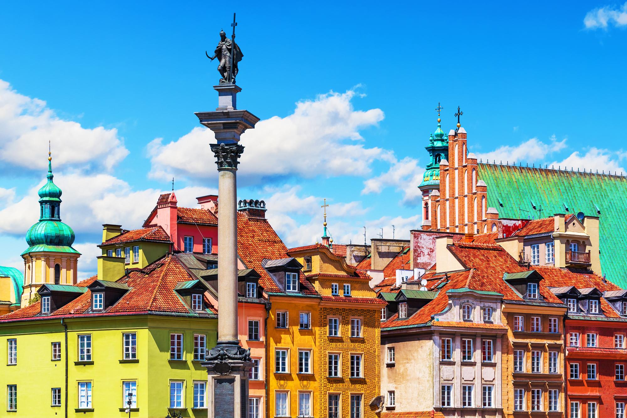 La vieille ville de Varsovie /crédit DepositPhotos