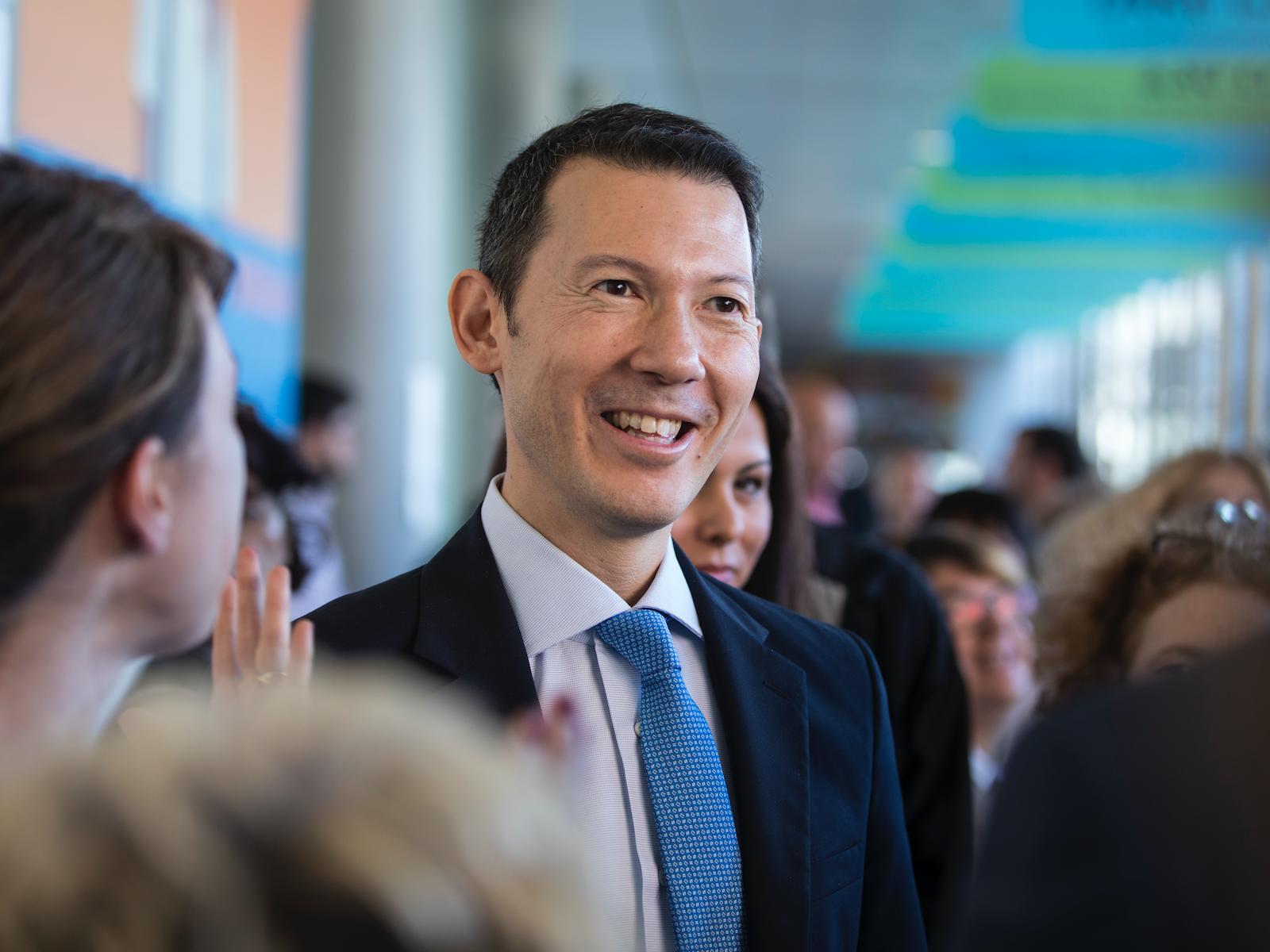 Benjamin Smith est arrivé à la tête d'Air France-KLM en septembre 2018 © AF