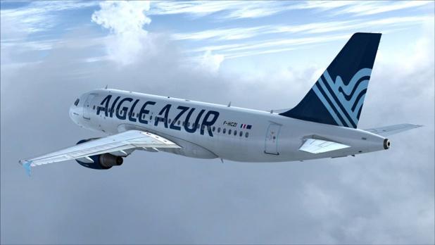 Depuis le 12 janvier 2019, il n'est plus possible de voler entre Lyon St-Exupéry et Nantes-Atlantique avec Aigle Azur - DR : AA