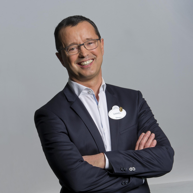 Daniel Dreux, vice-président des ressources humaines chez Disneyland Paris - Disneyland Paris