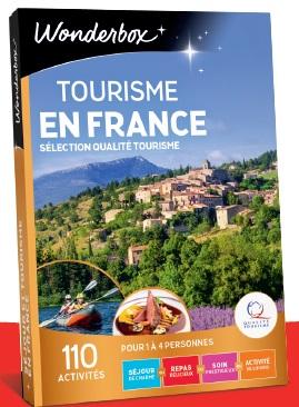 Ce coffret propose 110 activités et séjours de charme tous labellisés « Qualité Tourisme ». - DR
