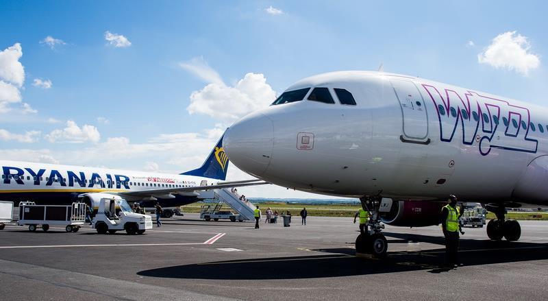 Vue sur le tarmac ©SAGEB – Aéroport Paris-Beauvais