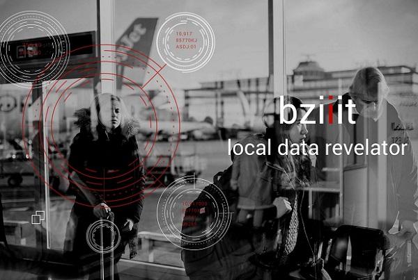 bziiit se charge de la digitalisation de la communication de l'entreprise lors d'un événement, pour créer de l'attraction - DR : Capture d'écran bziiit
