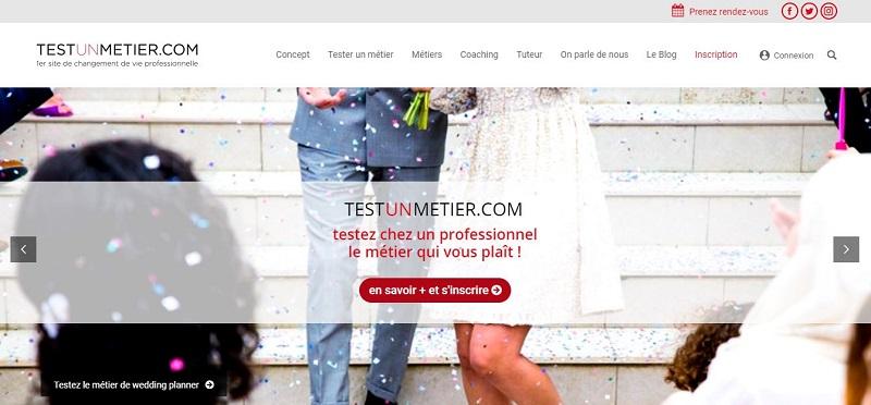 Le site TestUnMetier.com propose d'expérimenter concrètement le métier qui vous attirent, un moyen idéal pour savoir si vous êtes fait pour ça !  - TestUnMetier.com