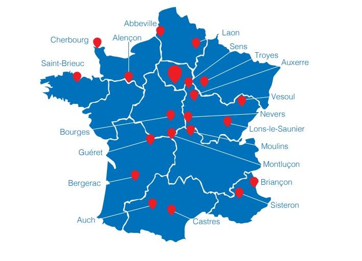 Voici les villes ciblées pour l'implantation de nouvelles agences Rent A Car - DR