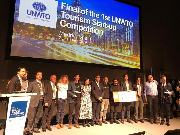 Refundit remporte le premier concours de start-up de l'OMT - Crédit photo : Refundit