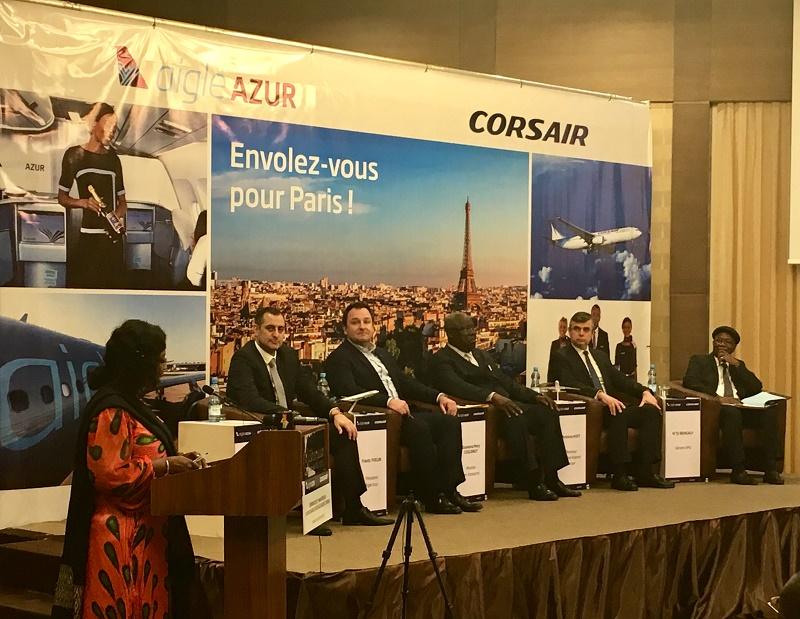 Aigle Azur et Corsair célèbrent un an de partenariat sur Bamako et annoncent le lancement d'un vol quotidien durant l'été 2019 - DR : Corsair