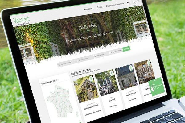 """VaoVert, la plateforme """"éco-construite"""" qui se rêve en Booking du tourisme durable - Crédit photo : VaoVert"""