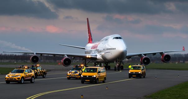 Le transfert de l'appareil de 150 tonnes, entre l'aéroport de Schiphol et l'hôtel nécessitera cinq jours - DR : Corendon Group