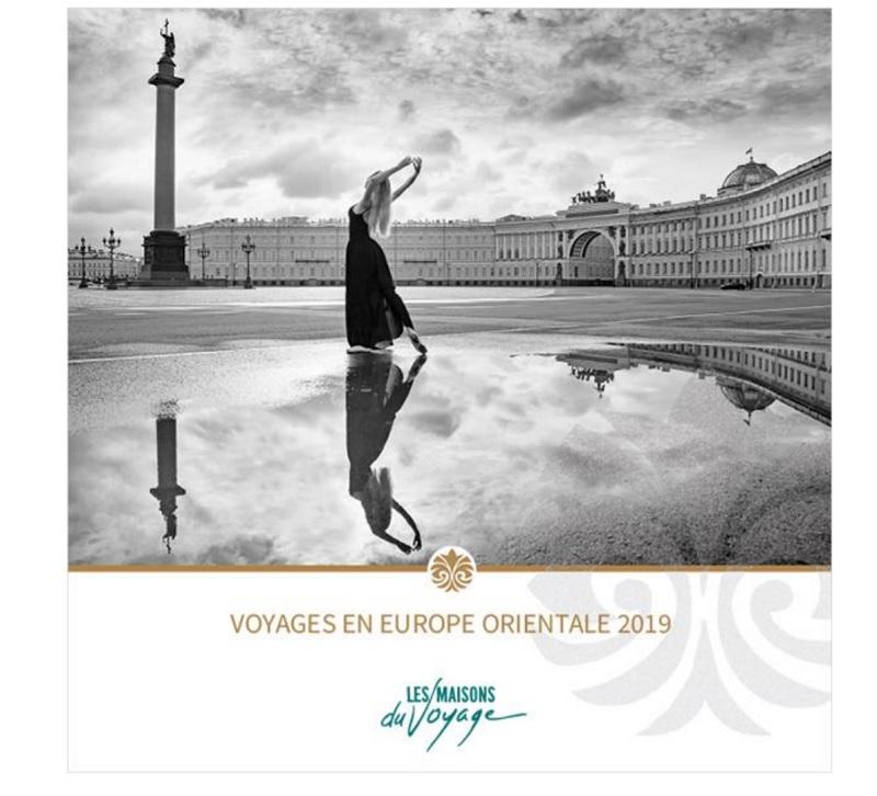 La brochure met en avant 4 autotours en individuel en Pologne, Bohême, Hongrie et Roumanie, mais aussi des escapades et des itinéraires - DR : Les Maisons du Voyage