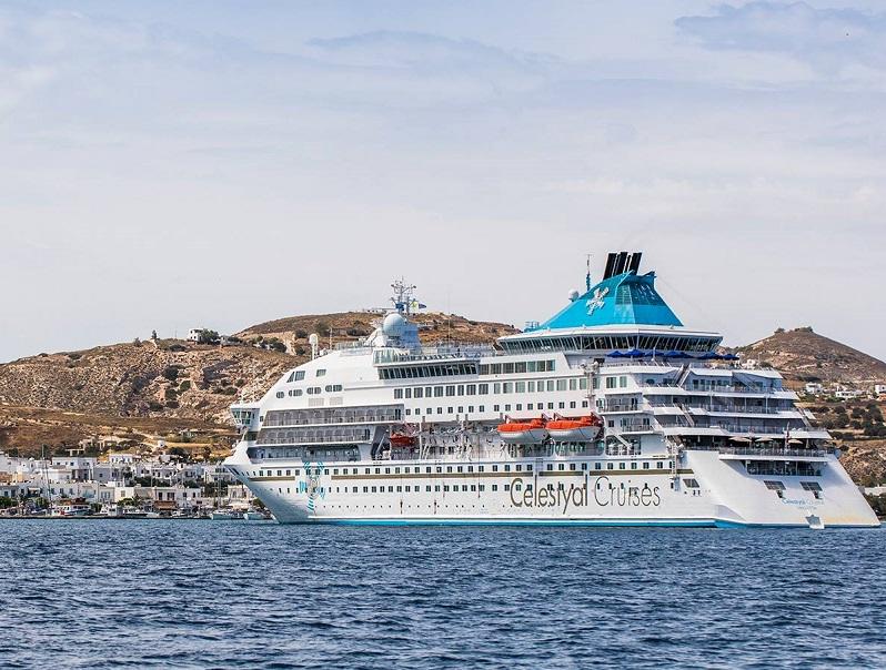 Les 43 suites juniors avec balcon et les 16 suites du Celestyal Crystal seront rénovées avant le début de la saison de croisières printemps/été 2019 - DR : Celestyal Cruises