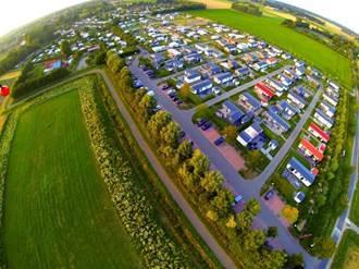 Camping in de Bongerd à Oostkapelle-Zeeland en Hollande -  DR