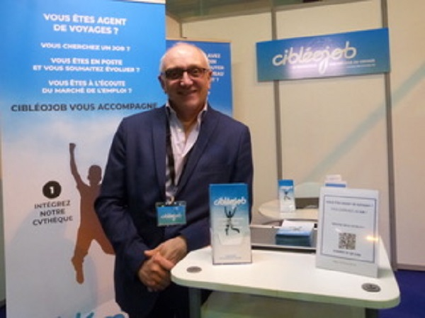 Alain Sauvage est le fondateur de Cibléojob. - Cibléojob