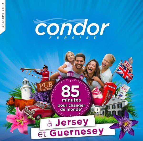 Condor Ferries sort sa brochure 2019 pour les séjours individuels - Crédit photo : Condor Ferries